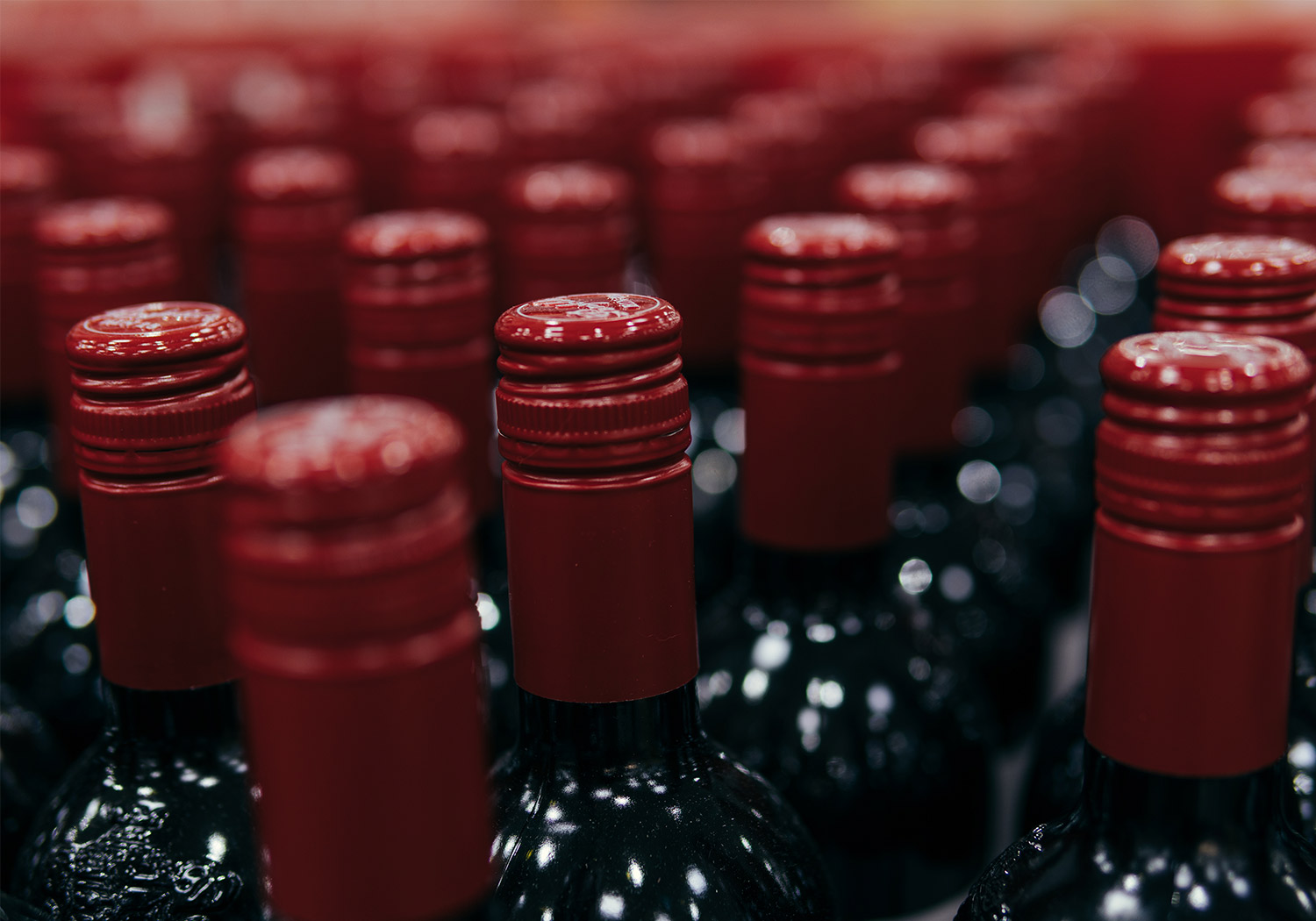 bottles of red wine